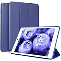 ZOYU Ultra Slim Lightweight Smart Trifold iPad 9.7 inch Stand Cover (2017/2018)