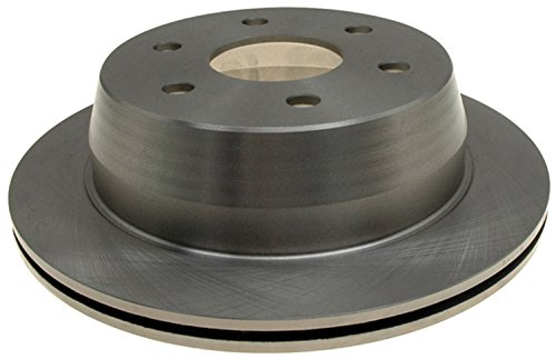 (ACDelco 18A952A Advantage Non-Coated Rear Disc Brake Rotor )