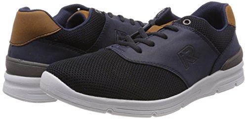 Noir Rieker navy Basses navy schwarz Homme Sneakers nuss 16400 wPxqARrPWI
