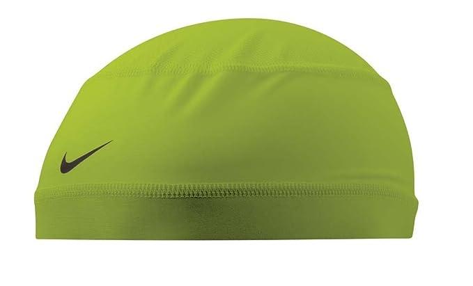 9a929ece2 Nike Pro Combat Dri-Fit Mesh Skull Cap Sports Running Hat Volt ...
