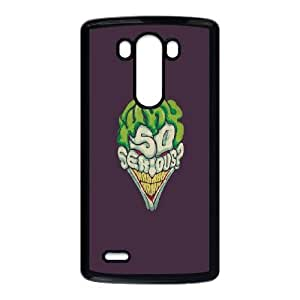 LG G3 Cell Phone Case Black_Joker - Why So Serious TR2276859