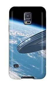 Excellent Design Star Trek Phone Case For Galaxy S5 Premium Tpu Case