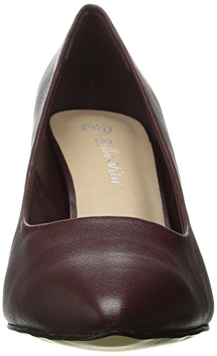 Leather Women's Burgundy Define Vita Dress Pump Bella OaYfUqxcYw