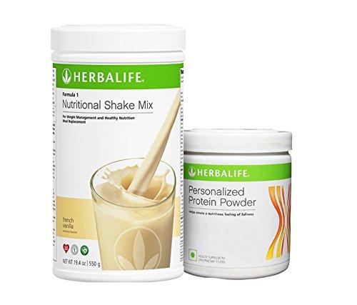 Herbalife Formula 1 Vanilla Shake Formula 3 Protein Powder - 500 G by Herbalife