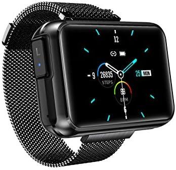 DECWIN Smart Watch Bracelet 2 in 1 TWS Wireless Bluetooth Earbuds 1.4 Inch Heart Rate Blood Pressure Fitness Trackers Wristband Smartwatches Waterproof 2