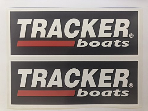 (2 Tracker Boats Decals by SBDdecals.com)