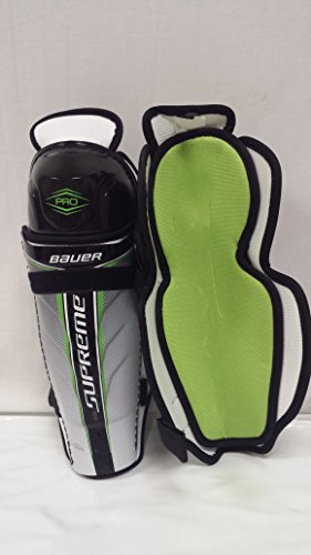 Pro Hockey Shin Guard (Bauer Supreme Pro Hockey Shin Guard JR-CTC Size 12)