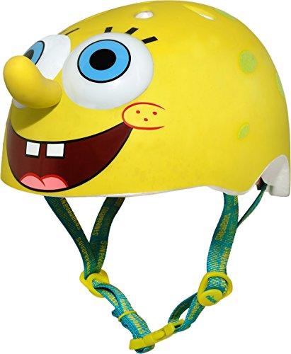 Raskullz Nickelodeon SpongeBob SquarePants Helmet, Yellow, Ages 5+ For Sale