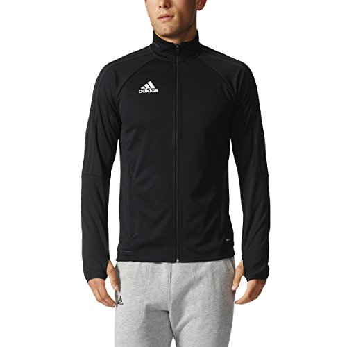 adidas Mens Tiro 17 Training Jacket Black/White M