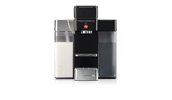 Francis Francis for Illy Y5 Milk Espresso and Coffee Machine Black by Francis Francis for illy - Cafetera italiana: Amazon.es: Hogar