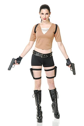 Tomb Fighter Costume - X-Small - Dress Size -