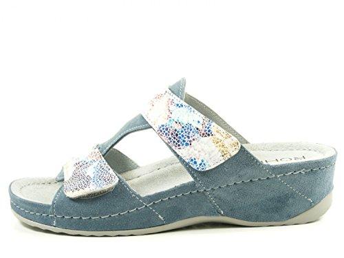 Femme Mules Bleu Jeans Giessen 55 Rohde 40 wOpFC