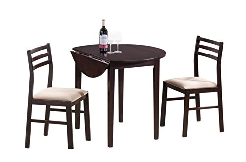 Dining Table Set for 2, Dinette Sets For Small Spaces,Dining Tables For Small Spaces,3 Pieces Contemporary Design In Your Living Room!