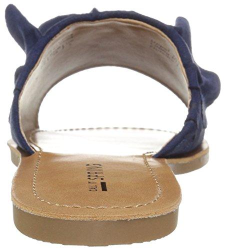 Lo Chiamano Sandalo Da Donna Nilian A Molla Blu Medio