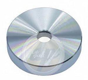 Puck Single-Mittelst?ck Aluminium silber