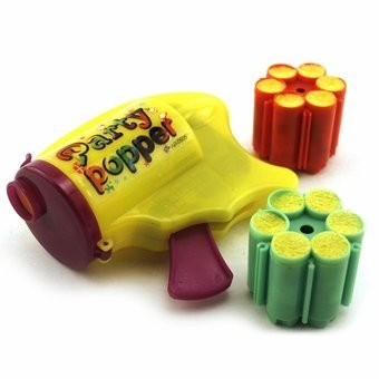 (3) Party Popper Confetti/Streamer Shooters