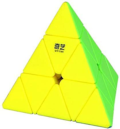 AdiChai QiYi Qiming Ultra Smooth Non Pop Stickerless Pyraminx Cube - Magic Speed Cube