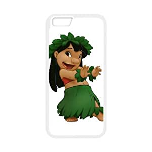 iPhone6s Plus 5.5 inch Phone Case White Disney Lilo &amp Stitch Character Lilo Pelekai WQ5RT7466840