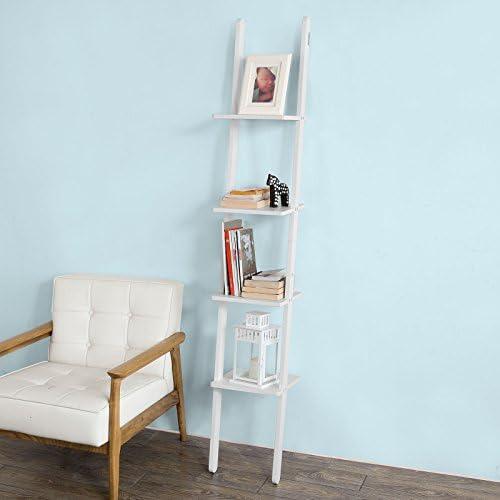 SoBuy®- Estanterías de Escalera, estantería de baño, estantería de ...