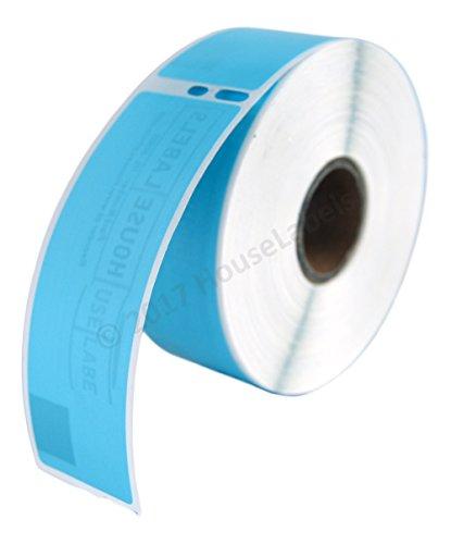 er Roll of DYMO-Compatible 30252 BLUE Address Labels (1-1/8