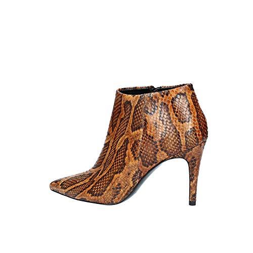 1095 Donna Cuoio Snake Bianca D Tronchetto TOn4Ww7aqx