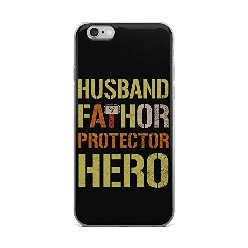 - iPhone 6 Plus/6s Plus Pure Clear Case Cover Husband Fathor Protector Hero