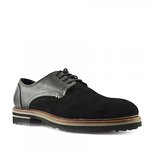 Kick Footwear - Zapatos de vestir brogues Hombre negro