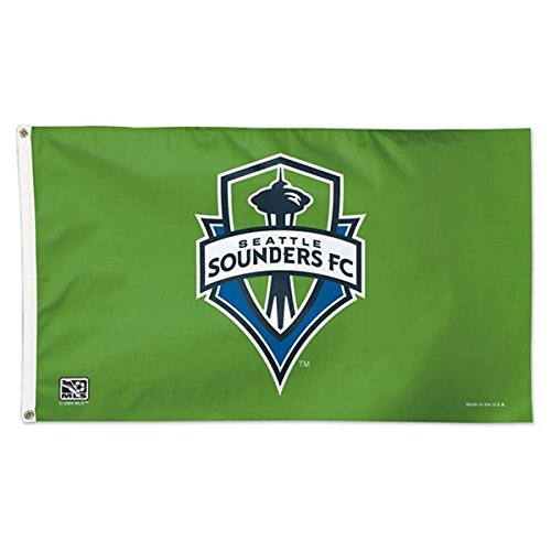 fan products of SOCCER Seattle Sounders 01752115 Deluxe Flag, 3' x 5'