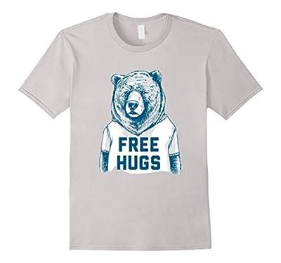 Free hugs t shirt- Bear t shirt- Funny t shirt