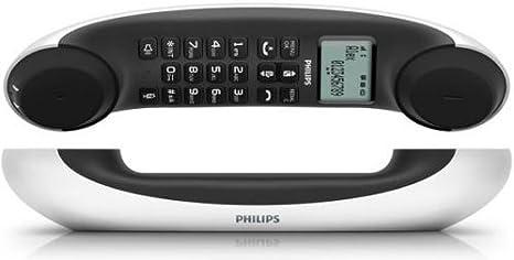 YW] teléfono inalámbrico Philips mira M5501WG M550 Blanco y Oscuro Grey-Sleek & Elegante: Amazon.es: Electrónica