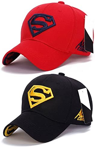 894c18c4d46 Superman Baseball   Sports Cap by Treemoda (Pack of 2)  Amazon.in  Clothing    Accessories