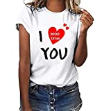 NCCIYAZ Womens Vest Top T-Shirt I Love You 3000 Times for Marvel Iron Man Tony Stark New Ladies Plus Size Tank(M(6),White T-Shirt-4)