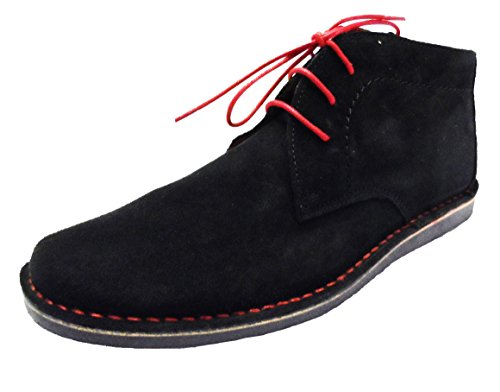 Nomad Ikon Boots In Black Beige Desert Mens SppAwHd