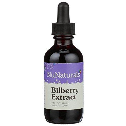 NuNaturals - NuStevia - Liquid Bilberry Stevia Extract - Alcohol Free - 2 Ounce ()