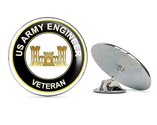 - U.S. Army Veteran Army Engineer Metal 0.75