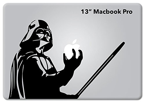 Star Wars Darth Vader Holding Apple Macbook Decal Vinyl Sticker Apple Mac Air Pro Retina Laptop sticker