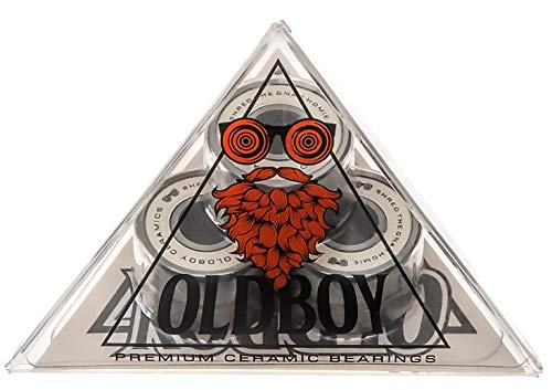 Oldboy Premium Ceramic Bearings for Longboard, Skateboard, Quad Skate, Inline Rollerblades or Scooter ()