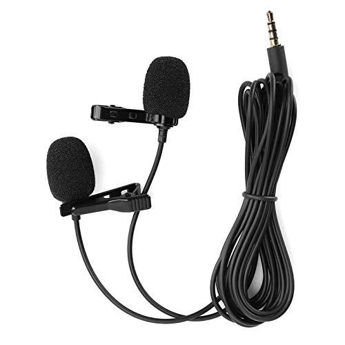 Dasspeld Ruisonderdrukking Lichtgewicht dasspeld Mini-microfoon Clipmicrofoon Drinkbaar, voor camcorders, voor camera's