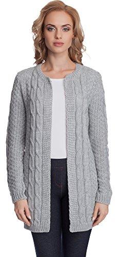 Merry Grigio Style Pullover Donna 1PR3L rHrOYwZ