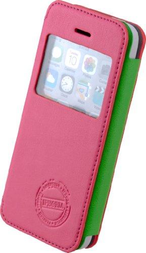 Iphoria 13726 Fun Window Neon Case für Apple iPhone 5C pink