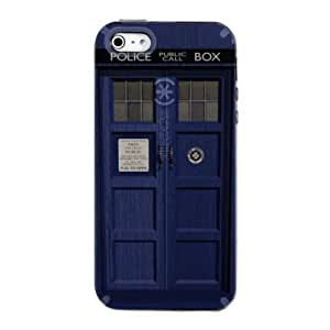 CUSTOM White Speck CandyShell Case for Case For Htc One M9 Cover - London Police Call Box TARDIS