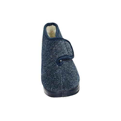 pour Femme Doctor Marine Cutillas Bleu Chaussons 595 1nq8IOqt