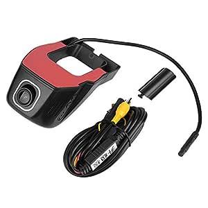 DVR grabadora de visi/ón nocturna para Android USB Grabadora de conducci/ón para coche HD c/ámara de conducci/ón KIMISS 1080P