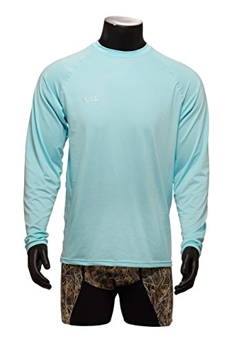 WETSOX Layer One Sun Protection Tee Shirt, Long Sleeve Comfort Fit- 98% All Day UVB Protection, Wet Or - Sleeve T-shirt Golfer Long