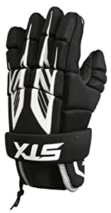 STX Lacrosse Stinger Gloves, X-Small, Black