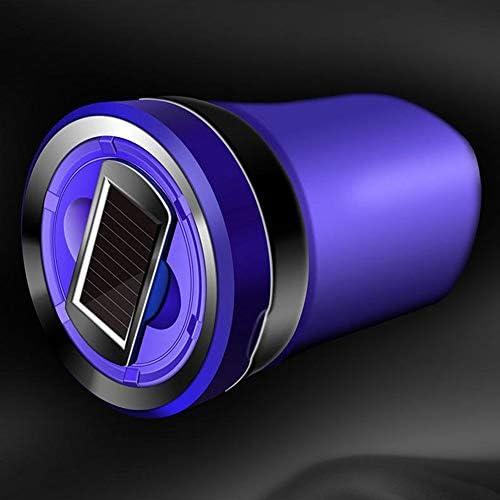 EUEMCH 自動灰皿LED車の灰皿取り外し可能なシガーライター灰皿車のカップホルダー車のアクセサリー