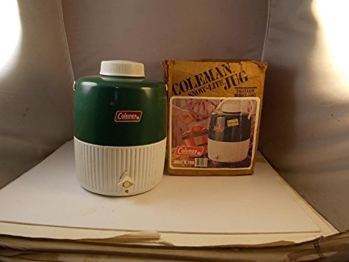 Coleman Lunch Pak Vintage Model 5272 Blue Cooler Lunch Box Made In USA