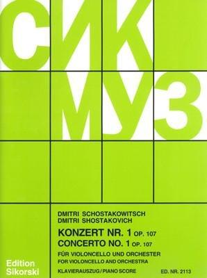 Shostakovich: Cello Concerto No. 1, Op. 107
