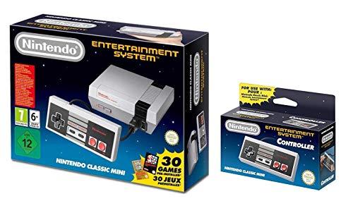 Nintendo NES Classic Mini EU Console With Bonus Controller for NES Classic Edition