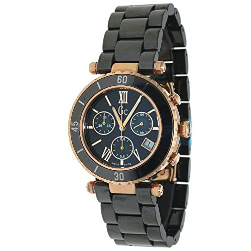 Guess Collection Diver Chic I47504M2S 40mm Stainless Steel Case Black Ceramic Anti-Reflective Sapphire Men's Watch